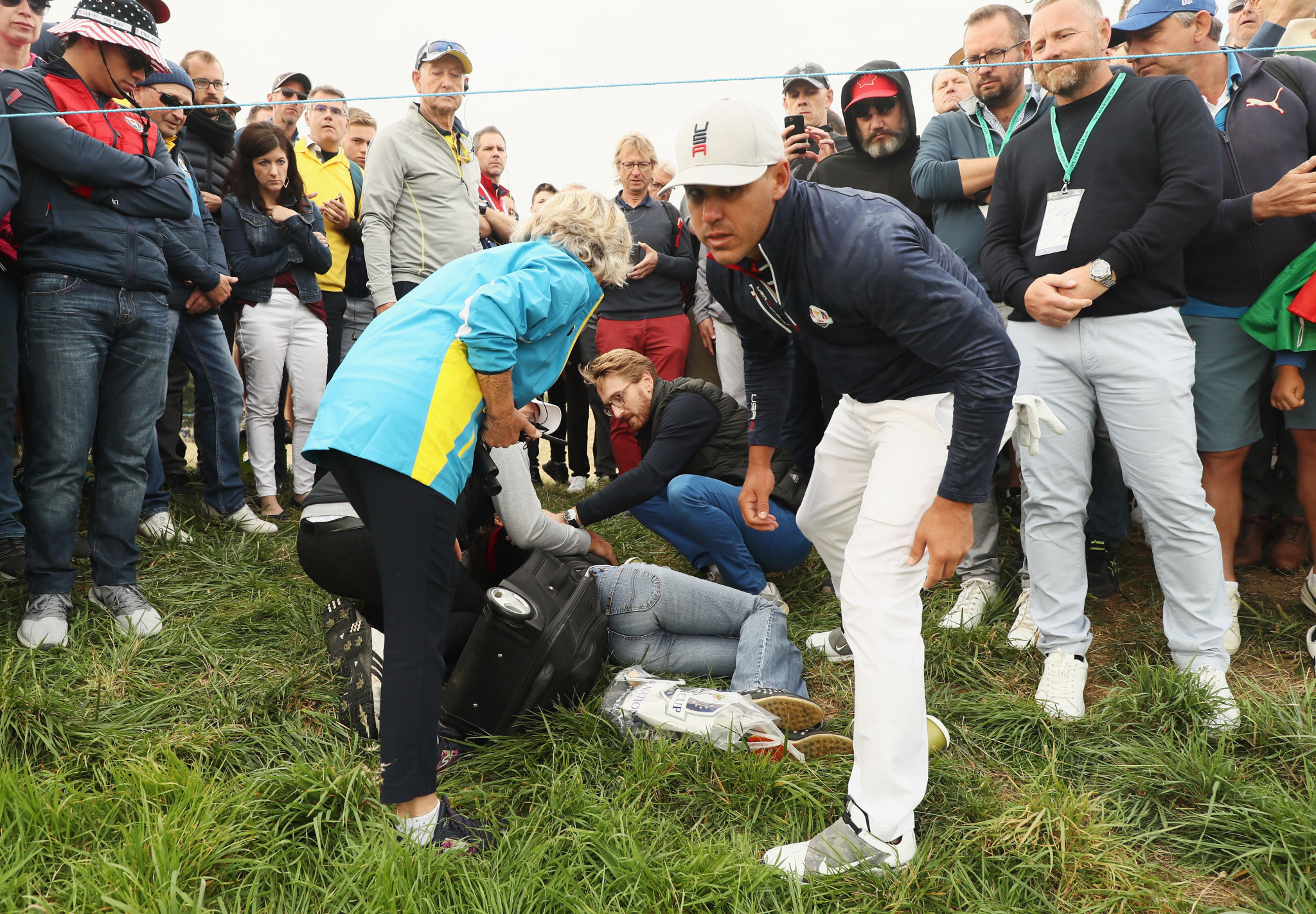 "Koepka ""heartbroken"" as fan blinded in one eye due to Ryder Cup shot"