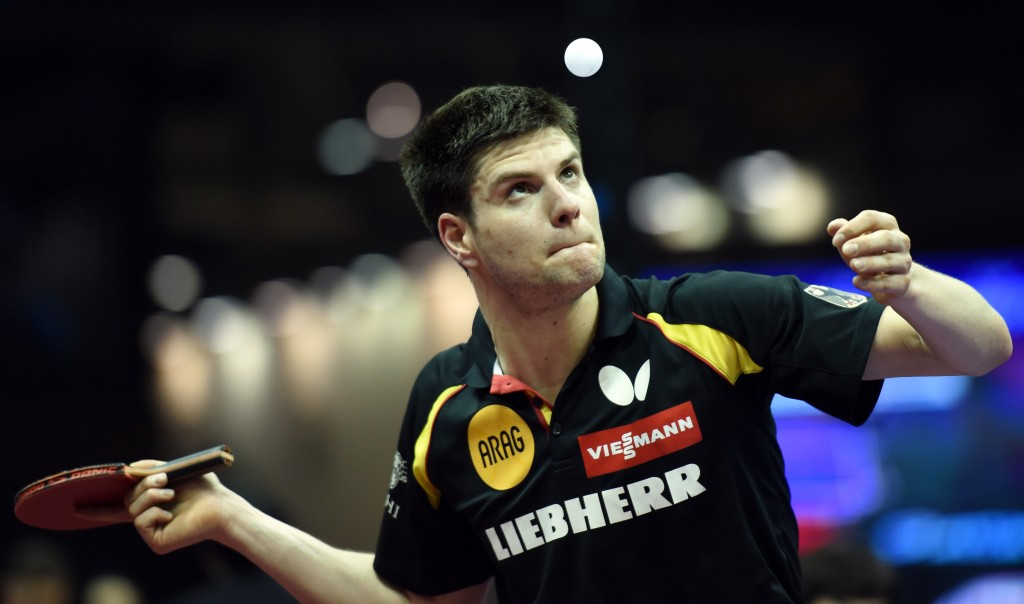 Dimitrij Ovtcharov is out of the International Table Tennis Federation World Championships ©Getty Images