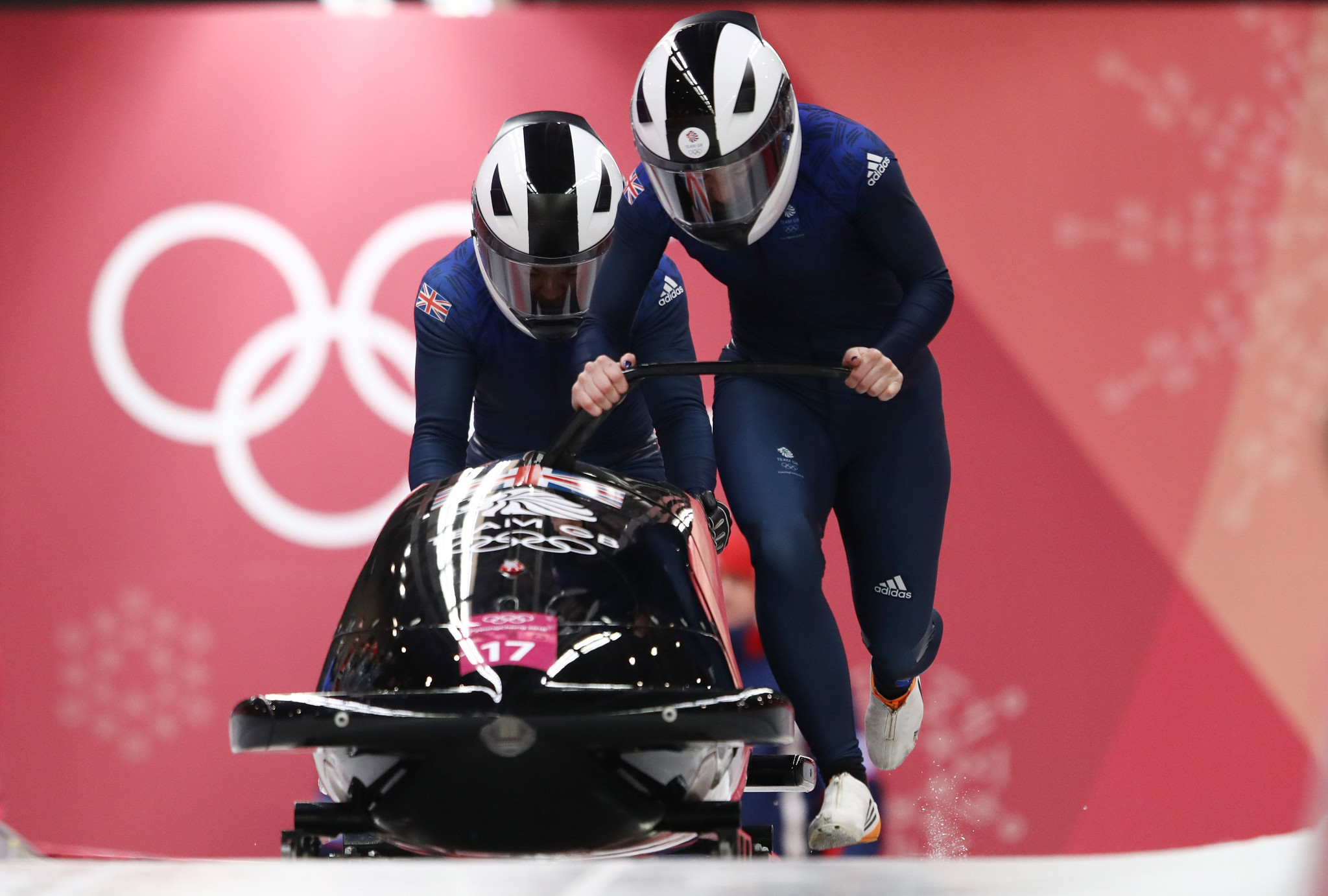 Push athlete Mica Moore will be taking a break from bobsleigh and from partnering Mica McNeill as she focuses on her studies ©Getty Images