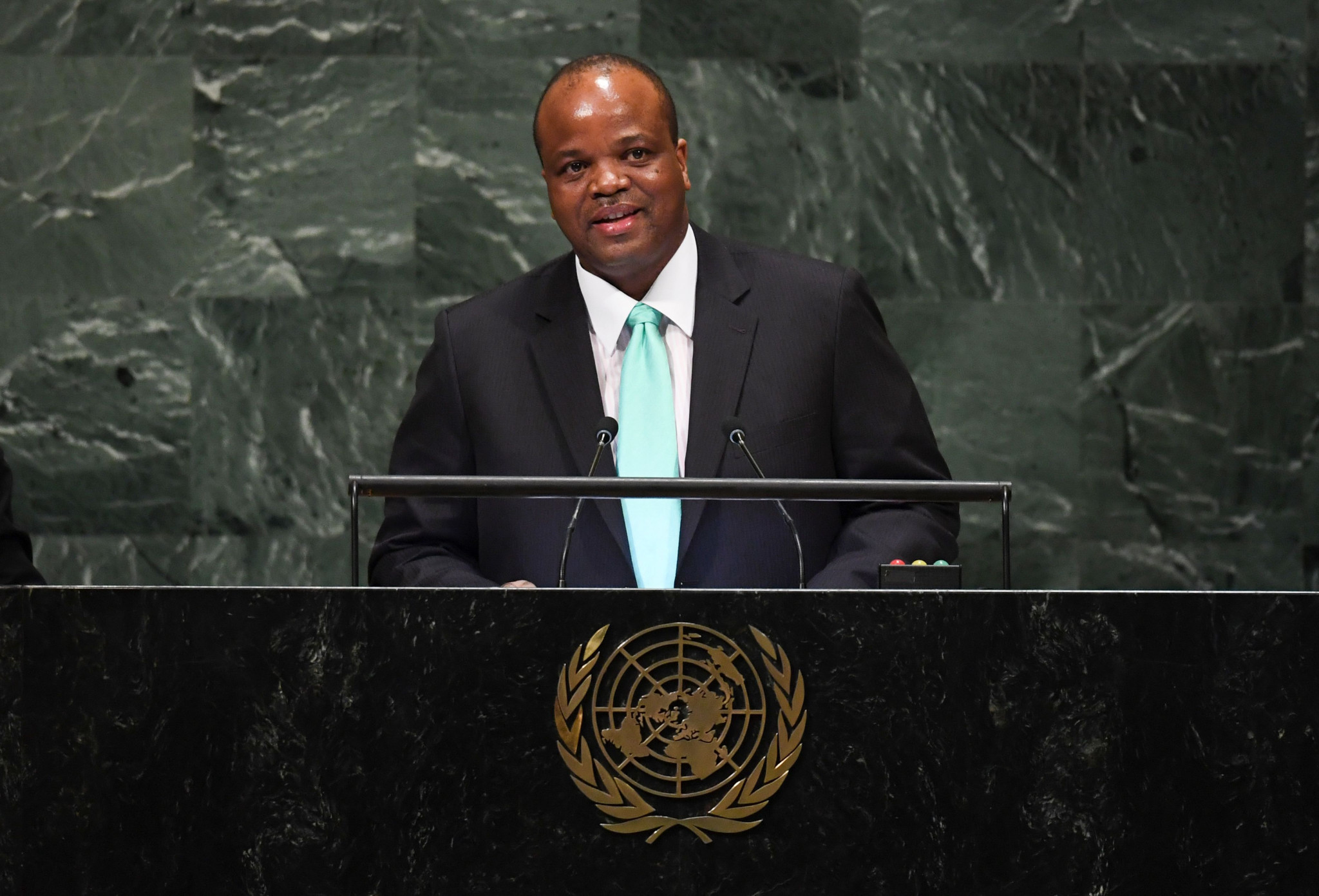 King Mswati changed the country's name in April ©Getty Images