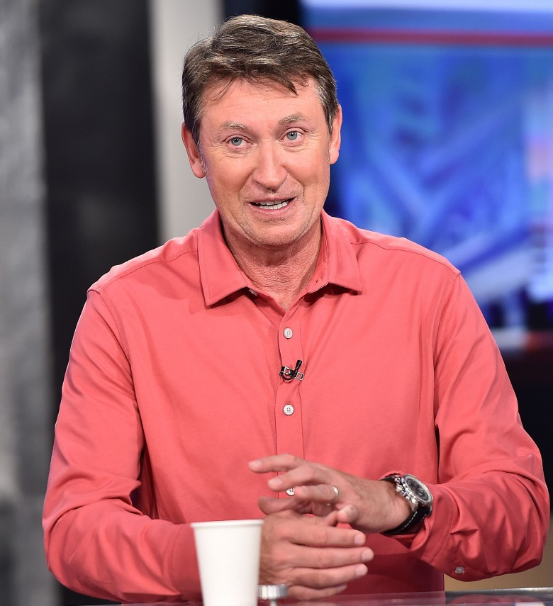 "Ice hockey icon Wayne Gretzky has admitted to being ""pleasantly surprised"" at the standard of the sport in China ©Getty Images"