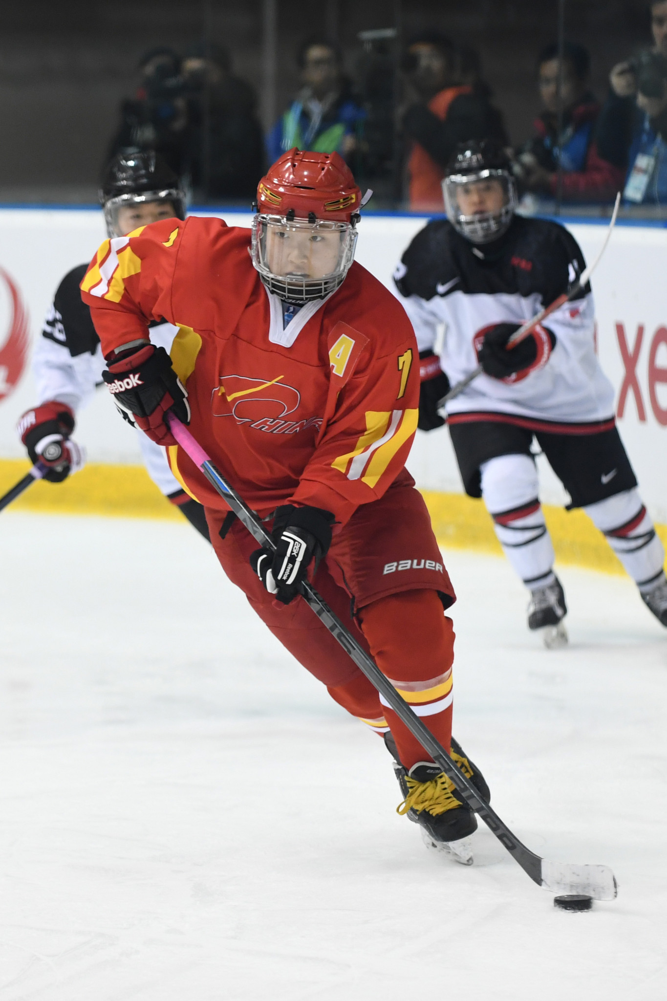 China is aiming to improve its ice hockey standards  ©Getty Images