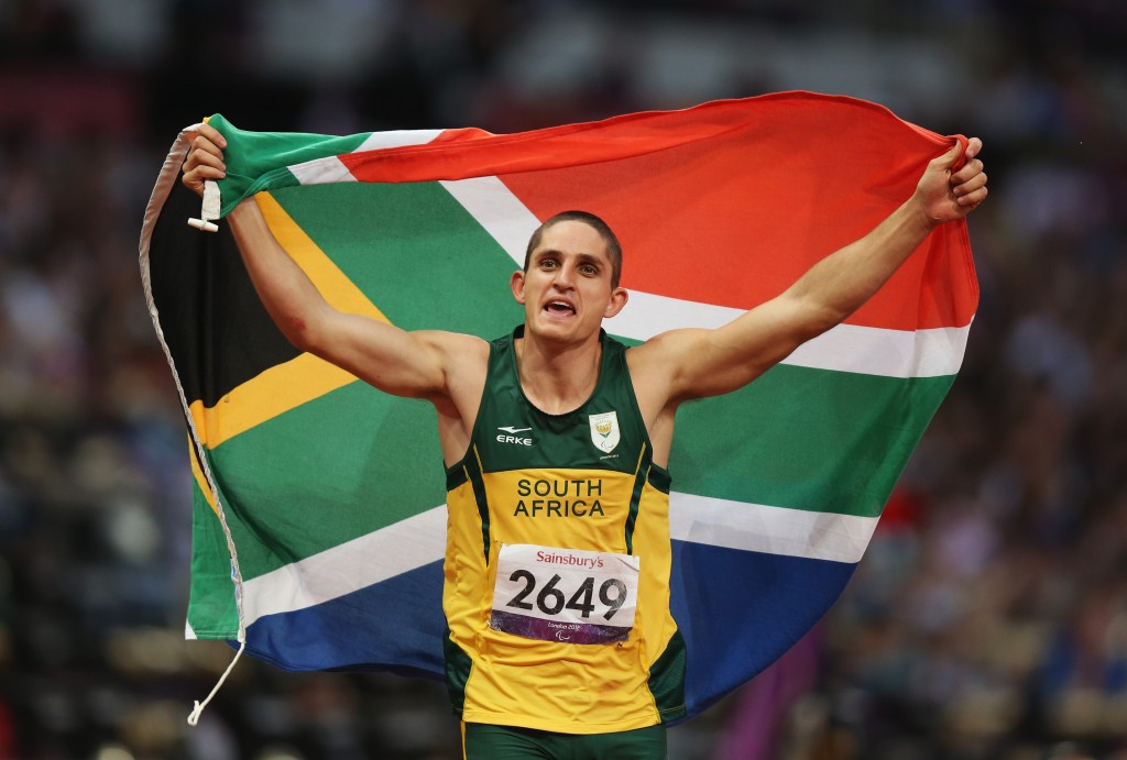 Paralympic 100 metres T37 champion Fanie van der Merwe is one of the 23 athletes to be named in South Africa's squad for Doha 2015
