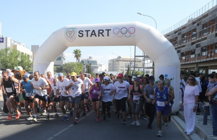 Cyprus Olympic Committee host Olympic Day celebrations
