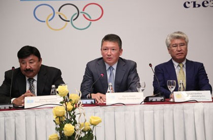 Raising global profile a key aim for new National Olympic Committee of the Republic of Kazakhstan President