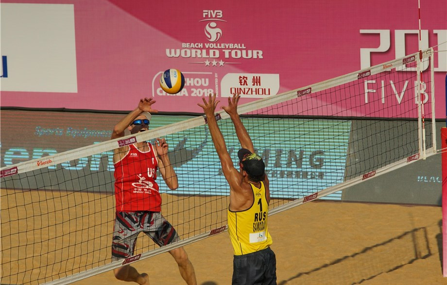 The United States beat Russia to win gold in the men's final of the FIVB Beach Vollyball World Tour Qinzhou 3-star ©FIVB