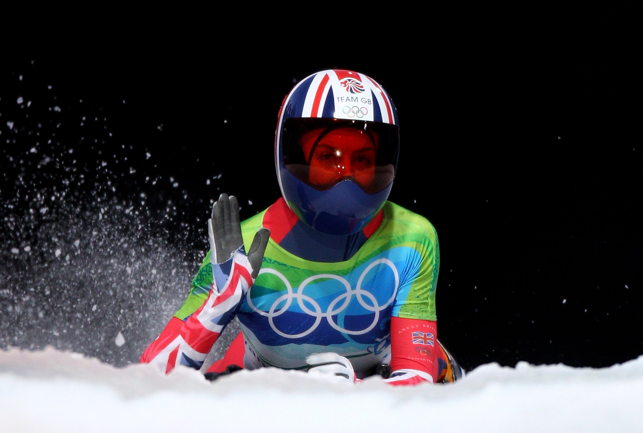 "Olympic skeleton champion ""broken"" by the sport"