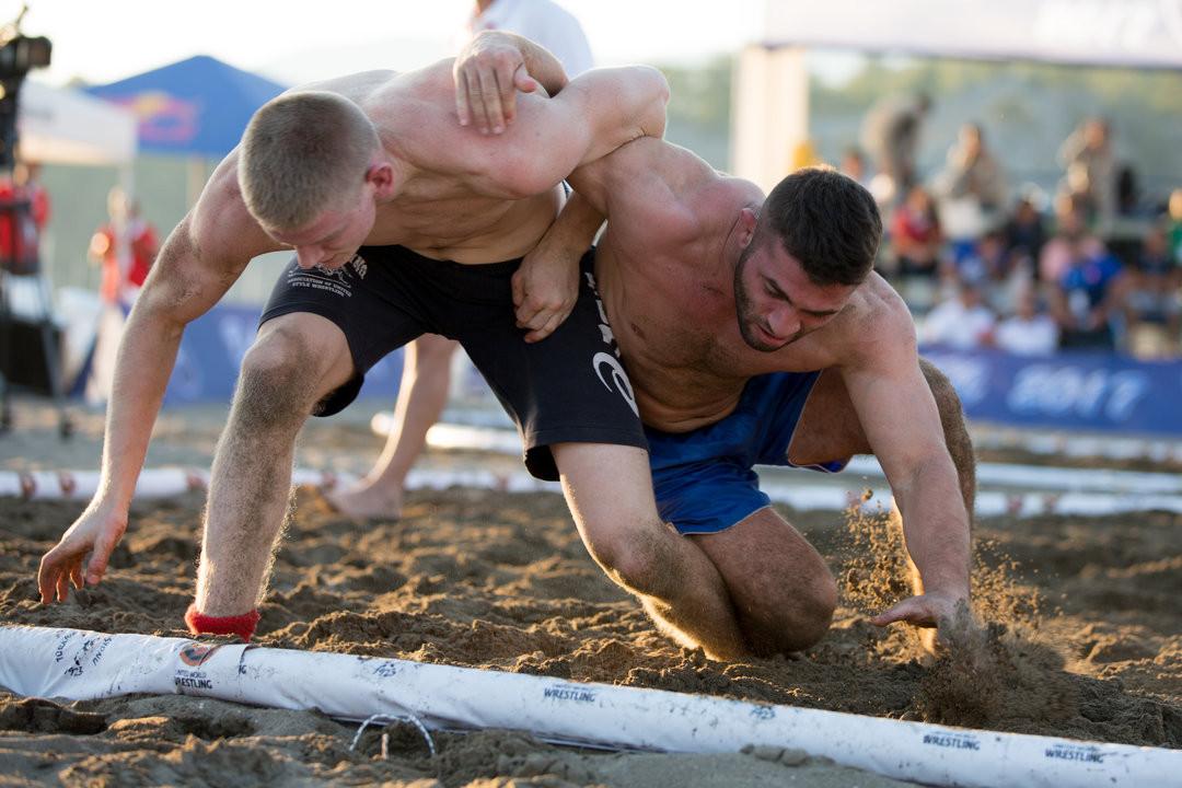 The UWW 2018 Beach Wrestling World Championships are set to start tomorrow in Muğla in Turkey ©UWW