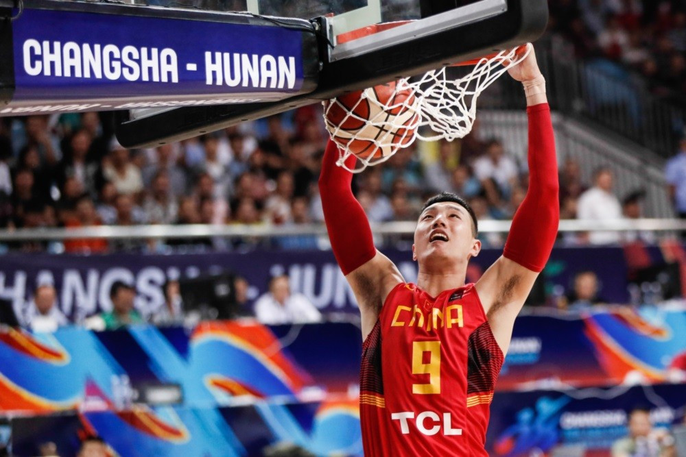 China secured their spot in the Asia Championship semi-finals by thrashing India ©FIBA