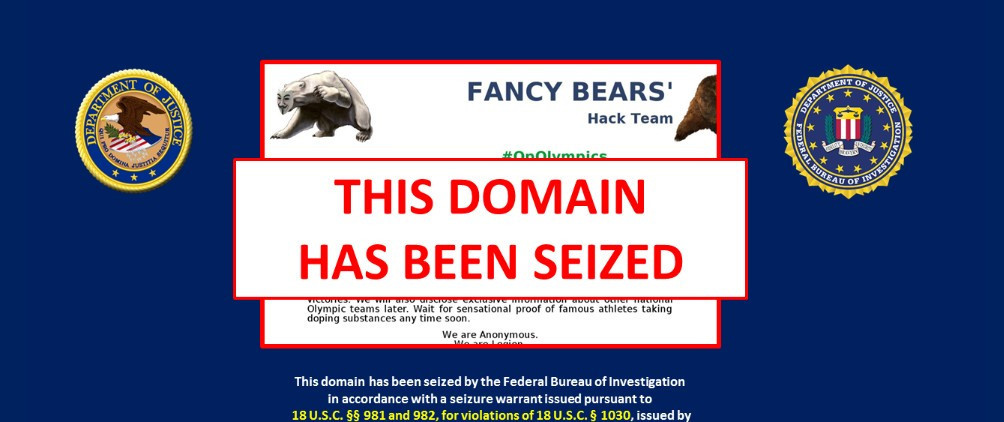 The Russian-run Fancy Bears' website, which leaked the private information from the World Anti-Doping Agency involving several top athletes, has been taken offline ©Twitter