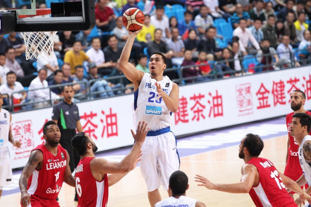 2013 runners-up the Phillippines are also through to the semi-finals after they beat Lebanon 82-70