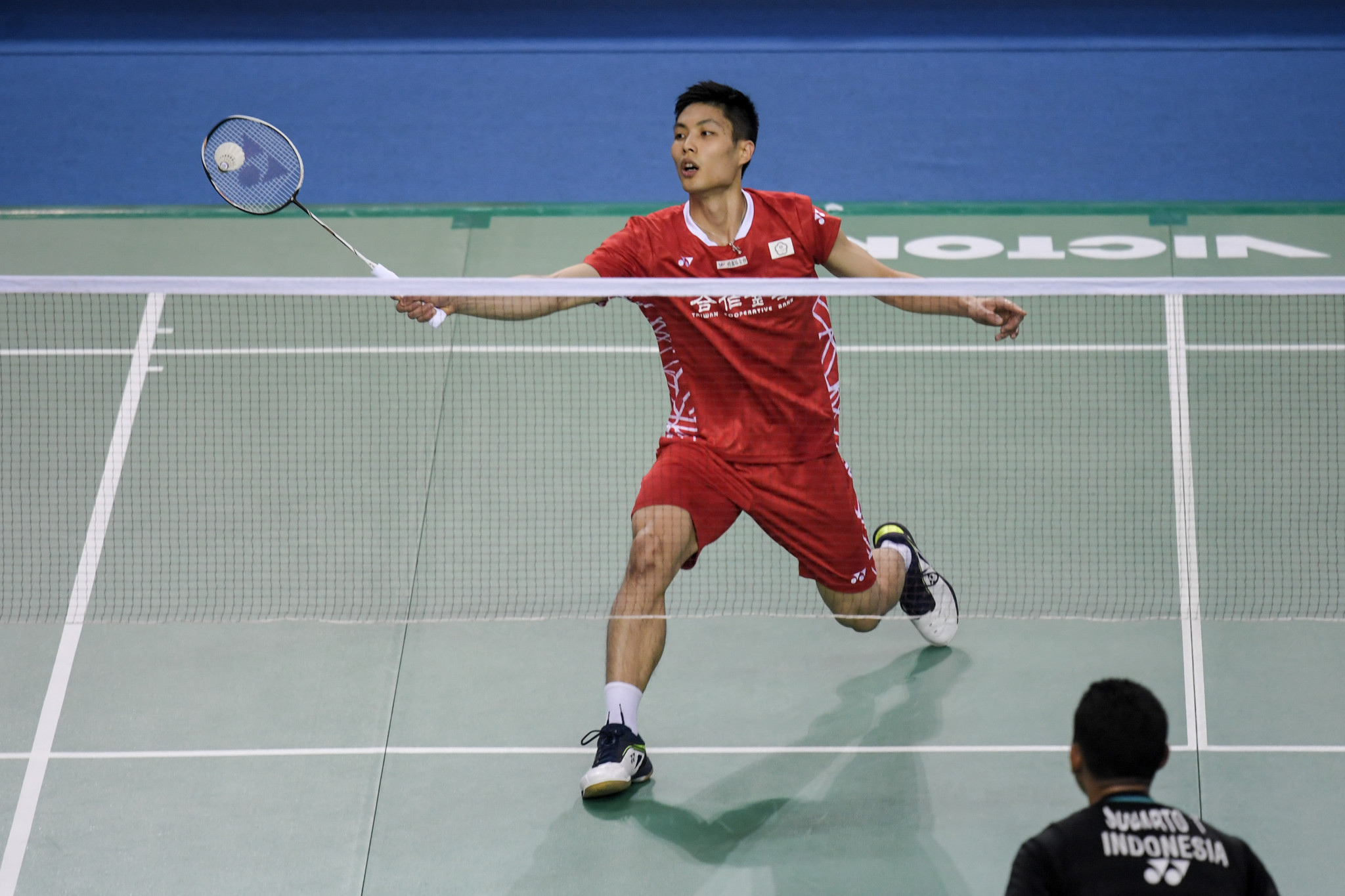 Top seed Tien Chen Chou is looking for his fourth title in 2018 at the Chinese Taipei Open ©Getty Images