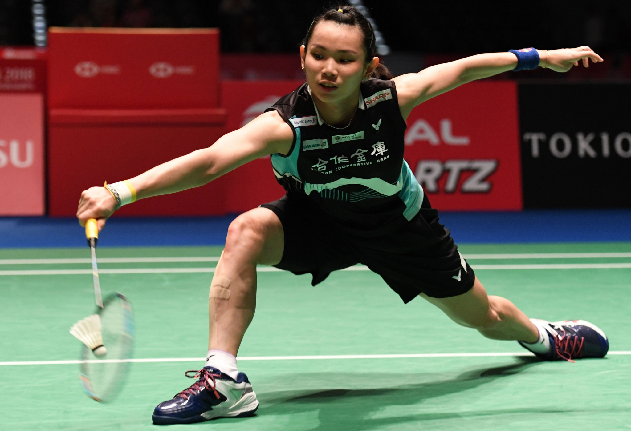 Tzu Ying Tai is the home favourite as she enters the women's singles semi-finals pf the BWF Chinese Taipei Open ©Getty Images