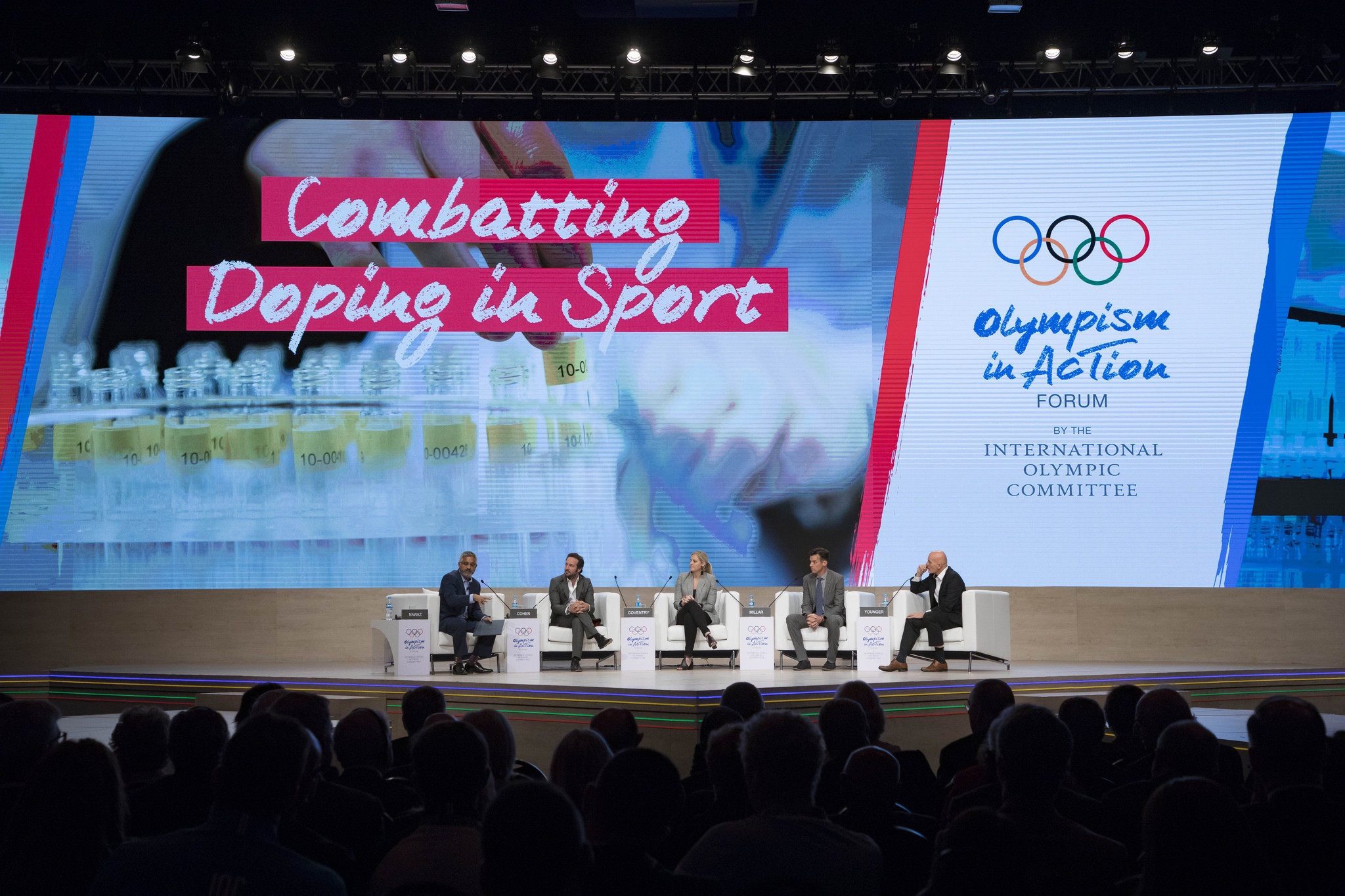 Combatting doping in sport was one of the key topics at the forum in Buenos Aires ©IOC