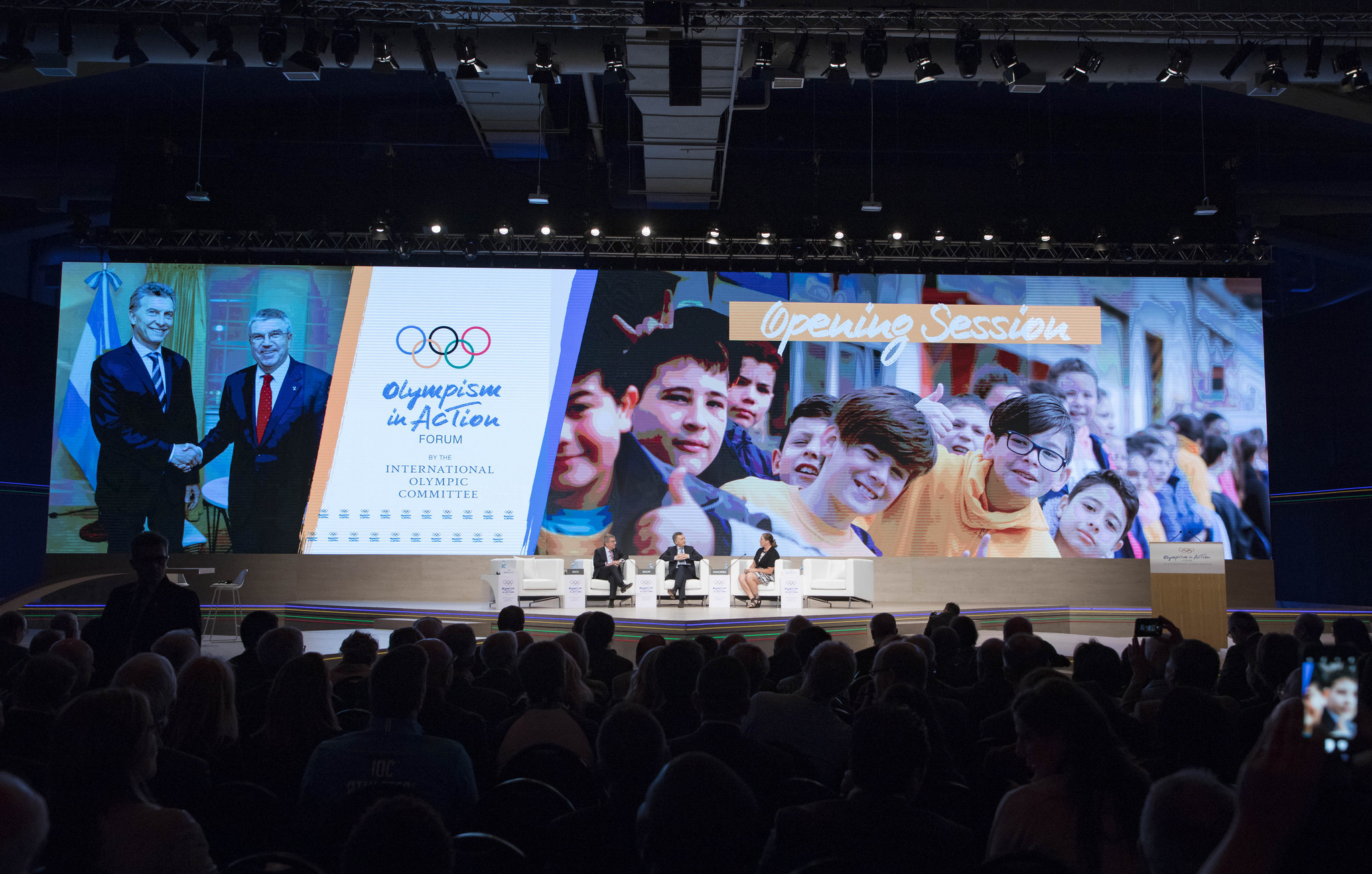 Doping debate and host city discussions dominate opening day of Olympism in Action forum