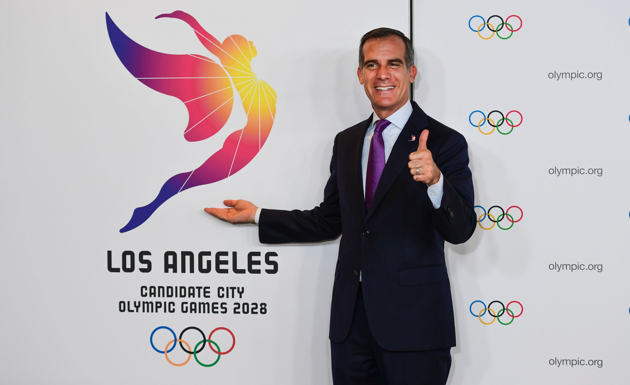 Los Angeles will host the Summer Olympic Games for the third time in 2028 ©Getty Images