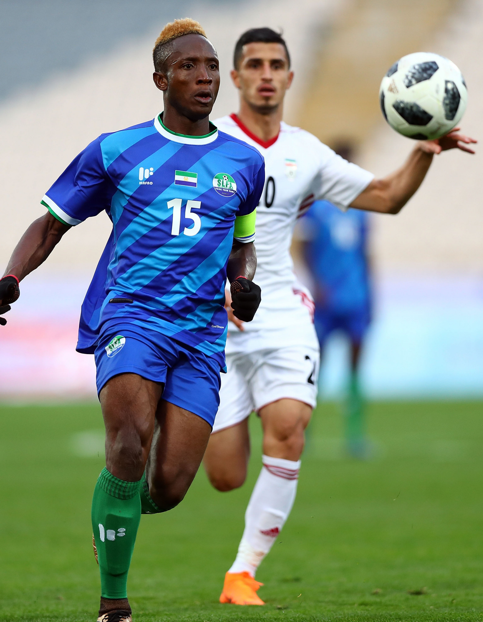 FIFA suspends Sierra Leone for Government interference