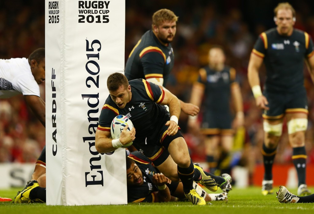 Wales move to brink of Rugby World Cup quarter-finals with victory over Fiji