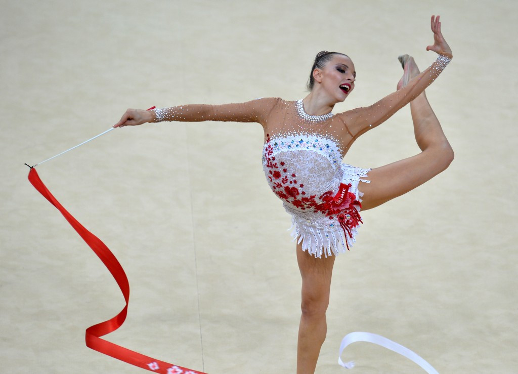 Melitina Staniouta will be looking for success in front of her home crowd at the European Championships