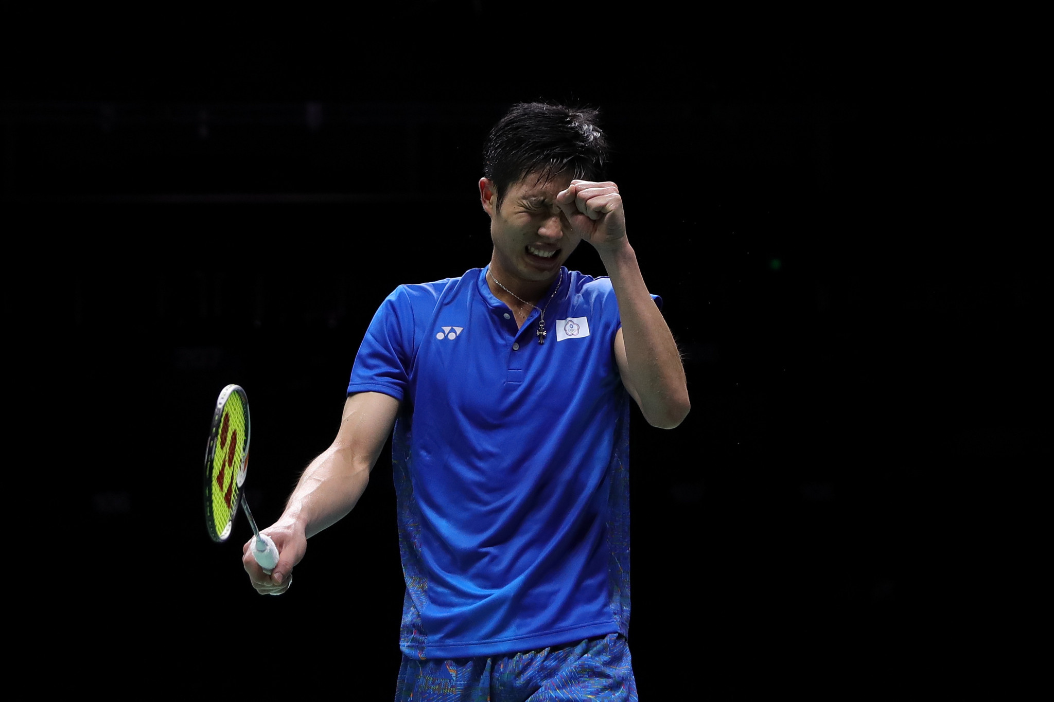 Chinese Taipei's Chou Tien-chen was the top seed going into the competition but has been knocked out in the semi-final of his home tournament ©Getty Images