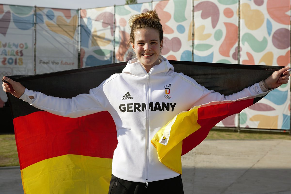 Diver chosen as German flagbearer for Youth Olympic Games Opening Ceremony