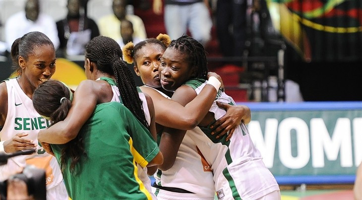 Senegal reach 13th consecutive Women's AfroBasket semi-final with commanding win over Mali