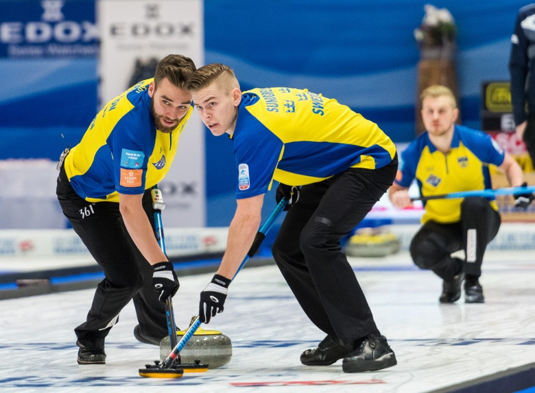 Sweden will be bidding for a fifth consecutive men's European Curling Championships title in Tallin in Estonia ©World Curling