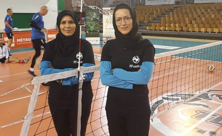 Iranian women make history as referees at sitting volleyball
