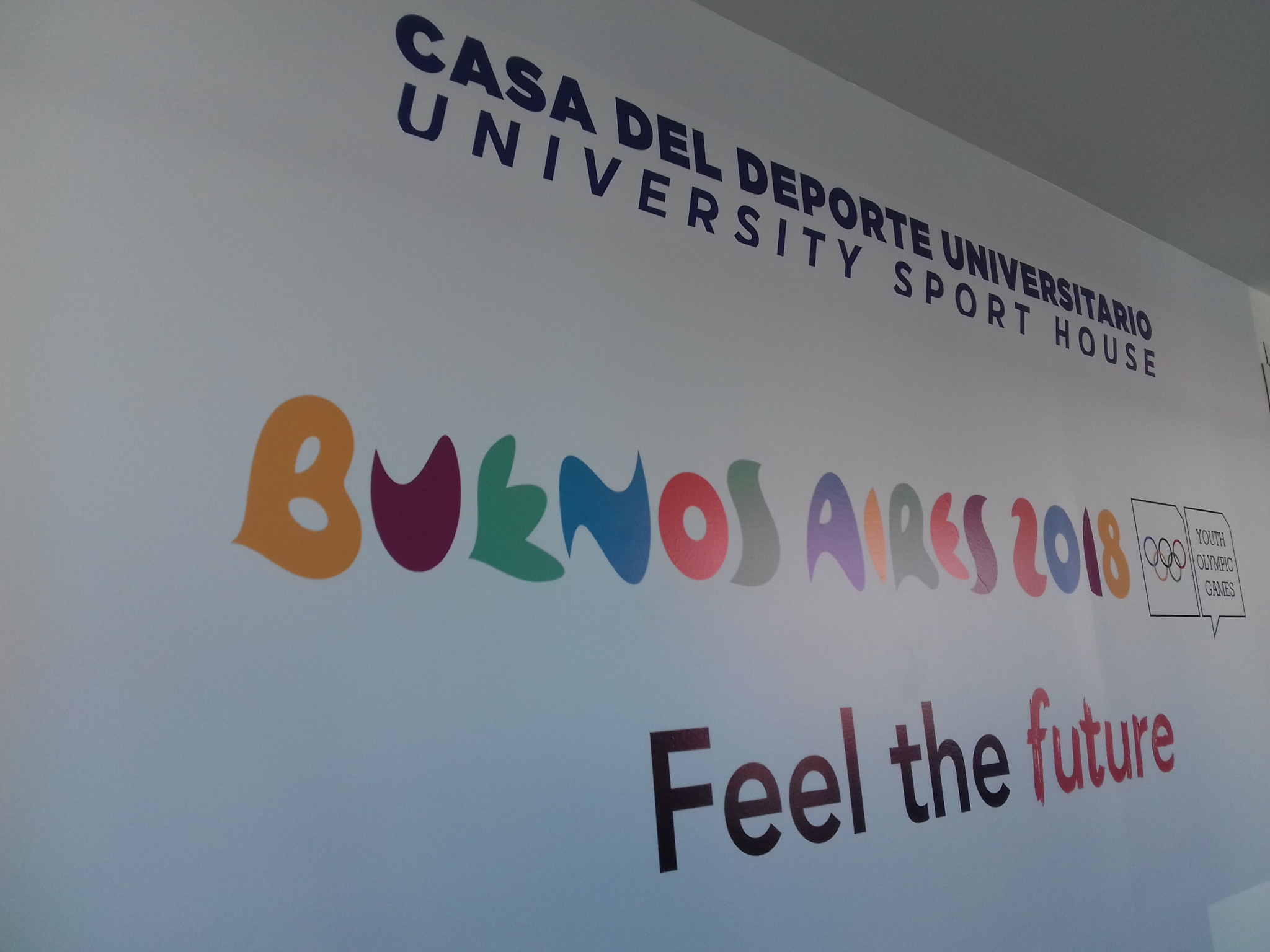 FISU President opens University Sports House at Buenos Aires 2018 Youth Olympic Park