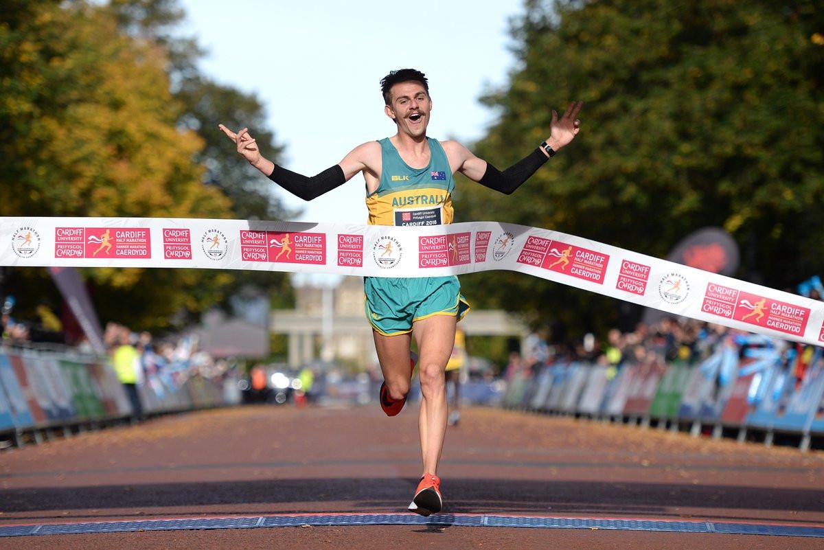 Rayner and Chekwel win inaugural Commonwealth Half Marathon Championships