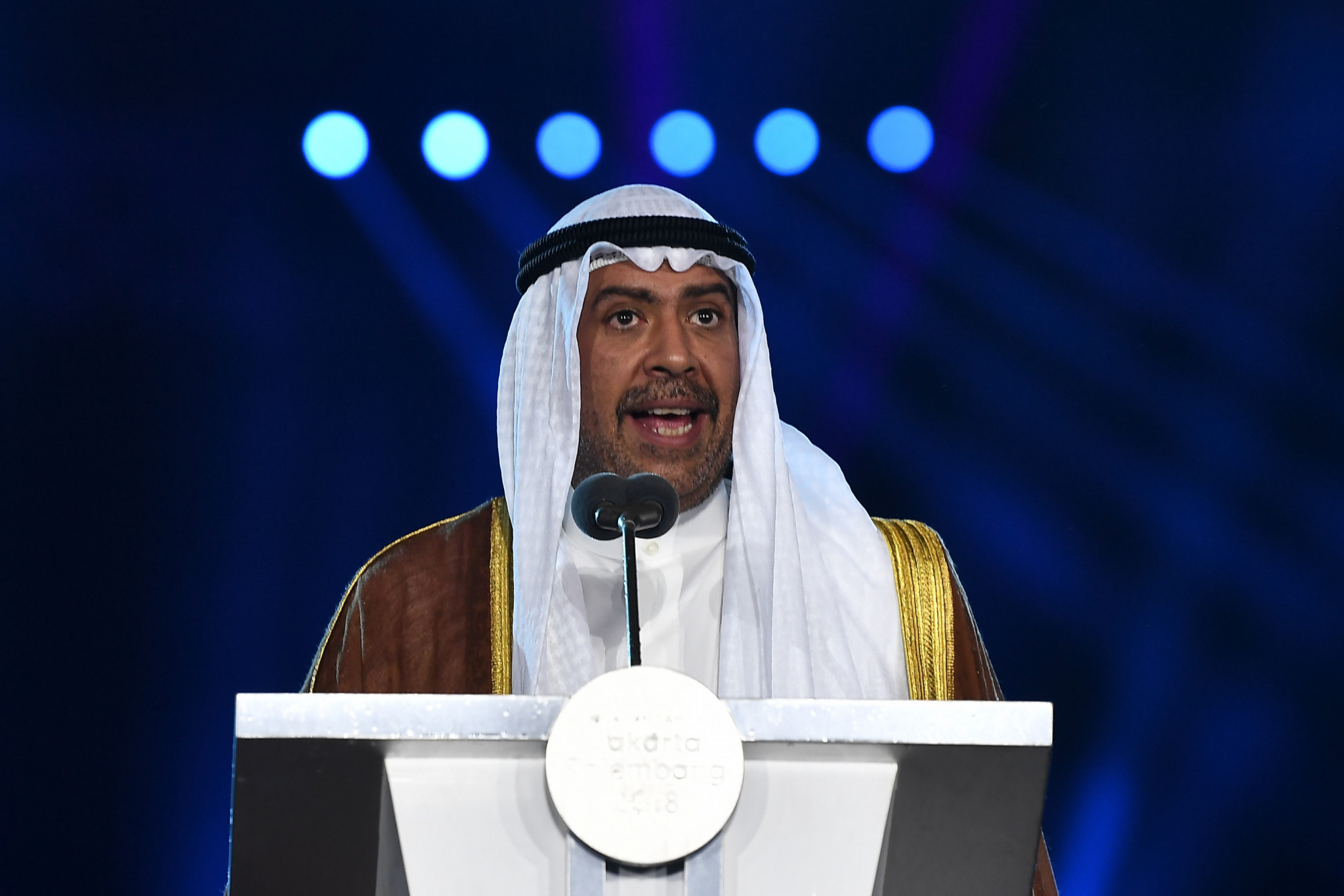 ANOC President Sheikh Ahmad Al-Fahad Al-Sabah claimed the establishment of the Ethics Commission by the organisation demonstrated good governance ©Getty Images