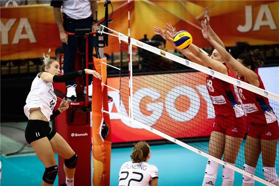 Serbia qualify for final six at FIVB Women's World Volleyball Championships