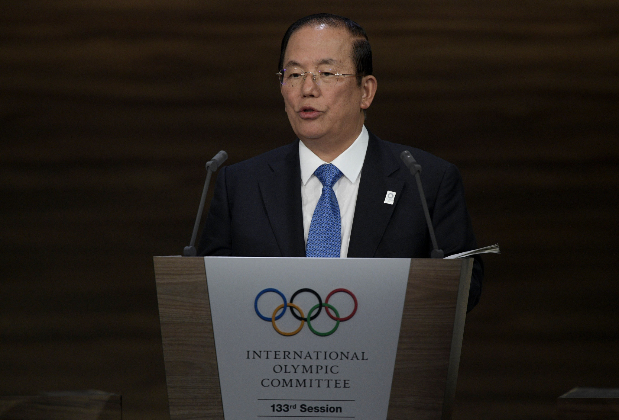 Further savings were promised by John Coates and Tokyo 2020 chief executive Yoshiro Muto ©Getty Images