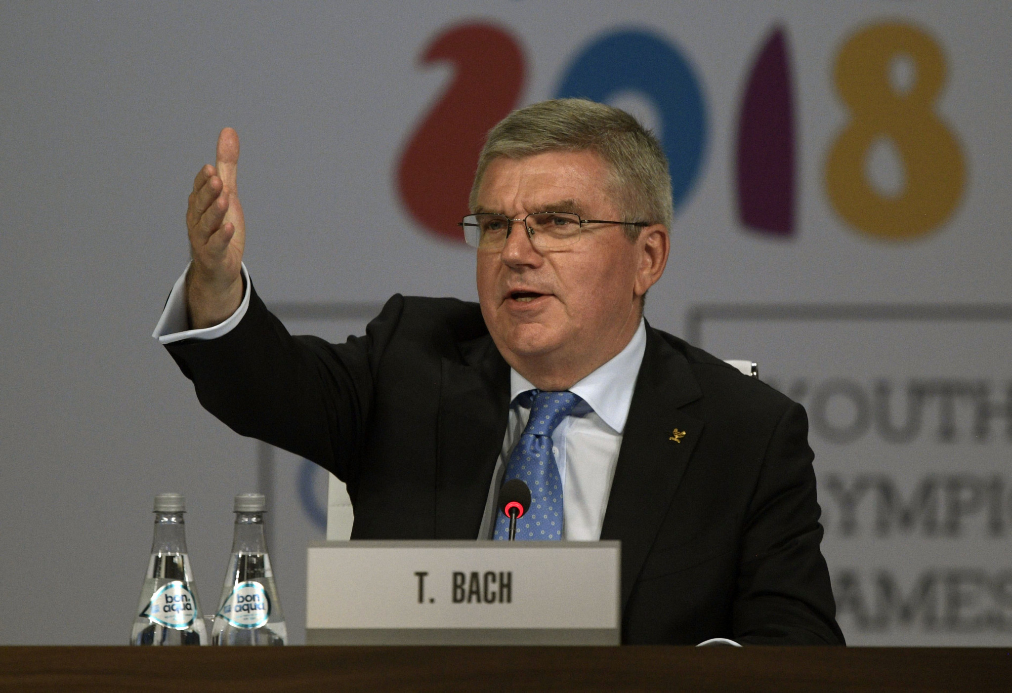IOC President Thomas Bach has repeated his warnings that boxing could be cut from the Olympic programme ©Getty Images