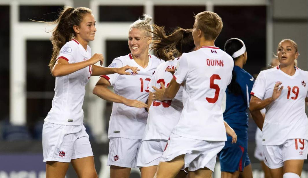 Canada score 12 against Cuba at CONCACAF Women's Championship