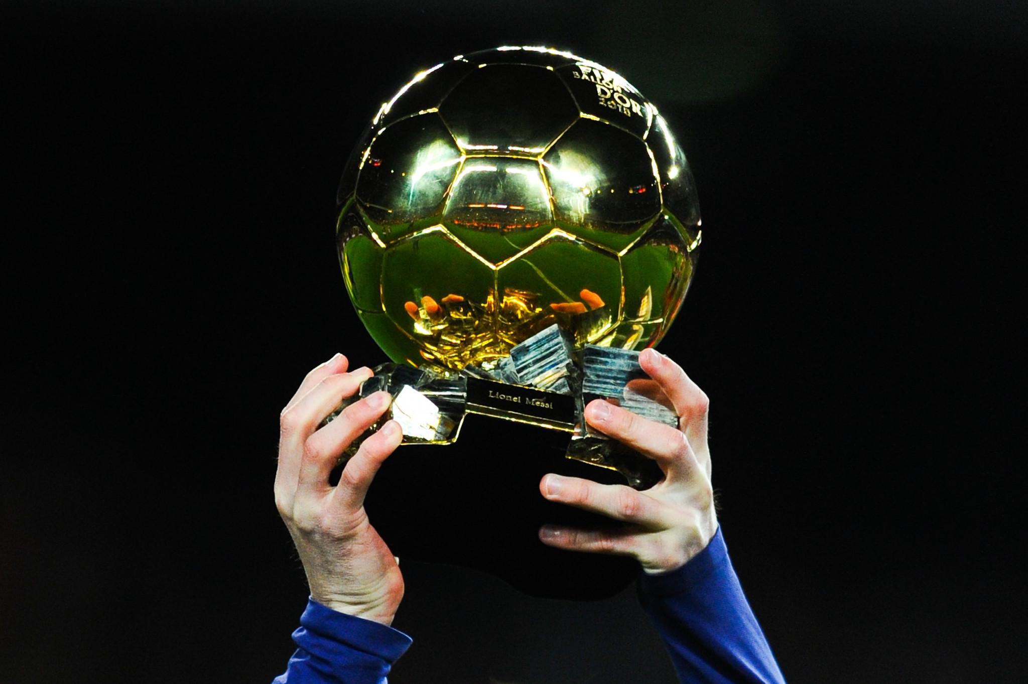 Shortlists revealed for Ballon d'Or, Women's Ballon d'Or and Trophée Kopa