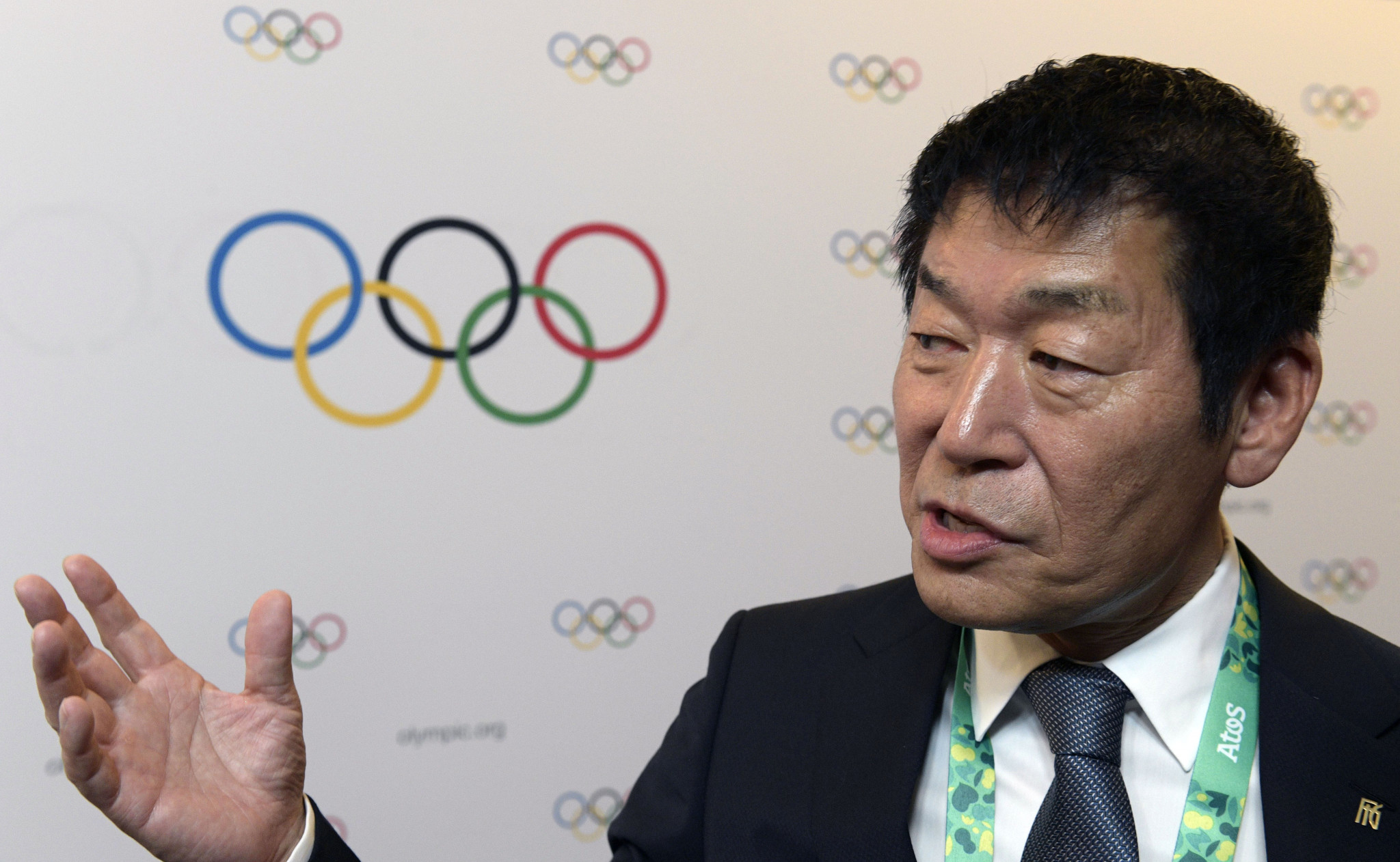 FIG President Morinari Watanabe was among the members elected at the Session today ©Getty Images