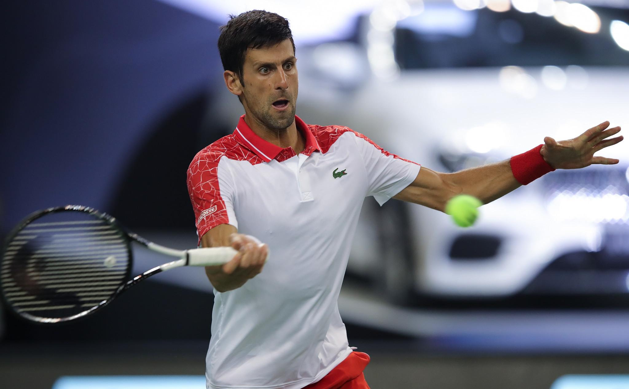 Djokovic progresses to last 16 of Shanghai Masters