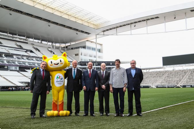 São Paulo signs host city contract to stage Rio 2016 football matches