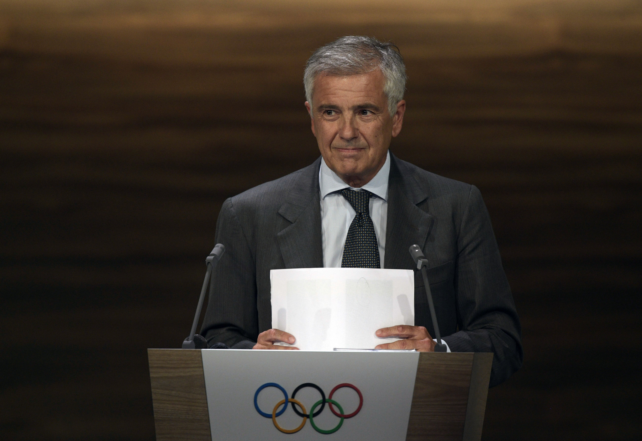 IOC vice-president and the Working Group on the 2026 Winter Olympic and Paralympic bids Juan-Antonio Samaranch was full of praise for the three bids at the Session in Buenos Aires today ©Getty Images