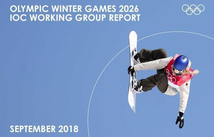 The IOC published its working group report on the 2026 candidates today ©IOC