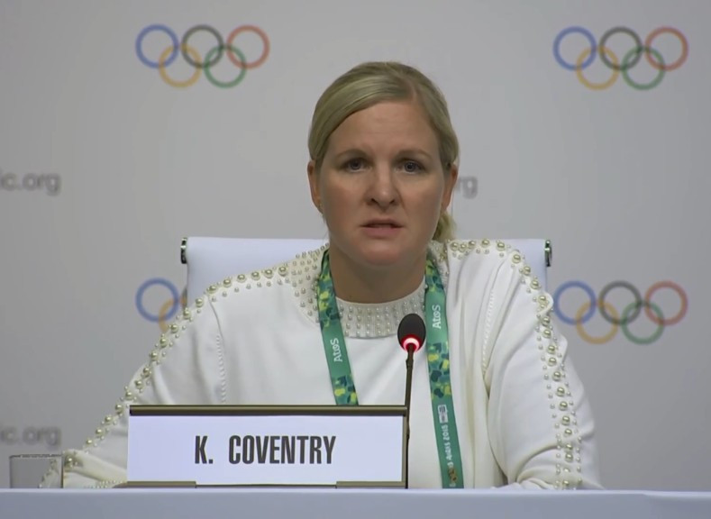 Coventry appointed chair of Dakar 2022 Youth Olympic Games Coordination Commission