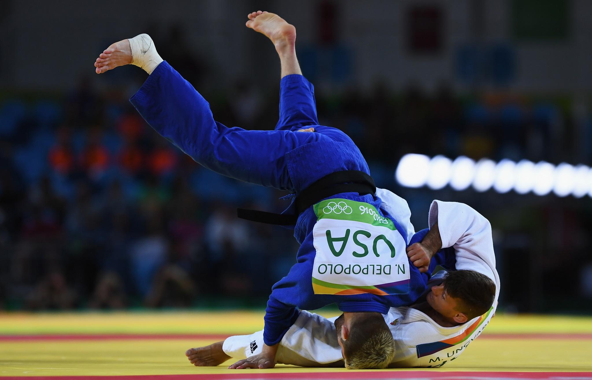 USA Judo award 2020 Senior National Championships to Daytona