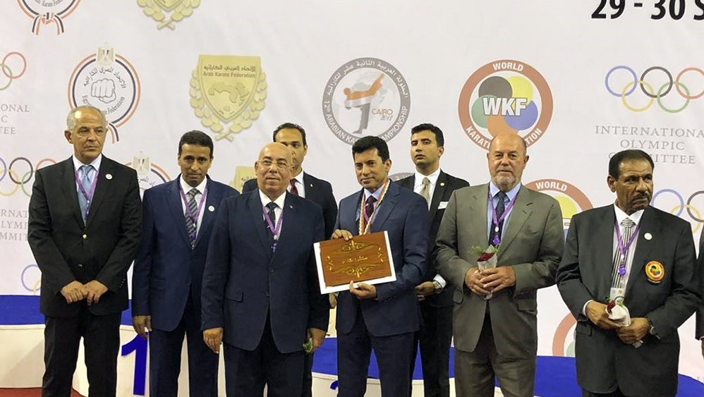 "WKF President reports ""progress"" in Arab countries after visit to Cairo"