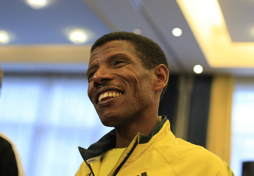 Haile Gebrselassie has said athletes must use their platform to help others ©Getty Images