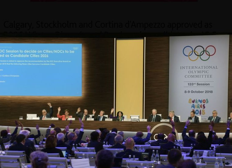 The IOC officially approved Calgary as a candidate for the 2026 Winter Olympic and Paralympic Games at their Session in Buenos Aires yesterday ©Getty Images