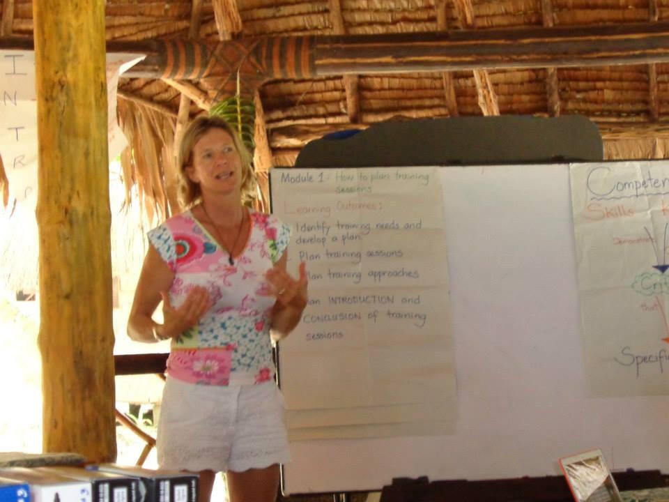 Barbara Kendall staged the Regional Athletes Forum at Leleuvia Island Resort
