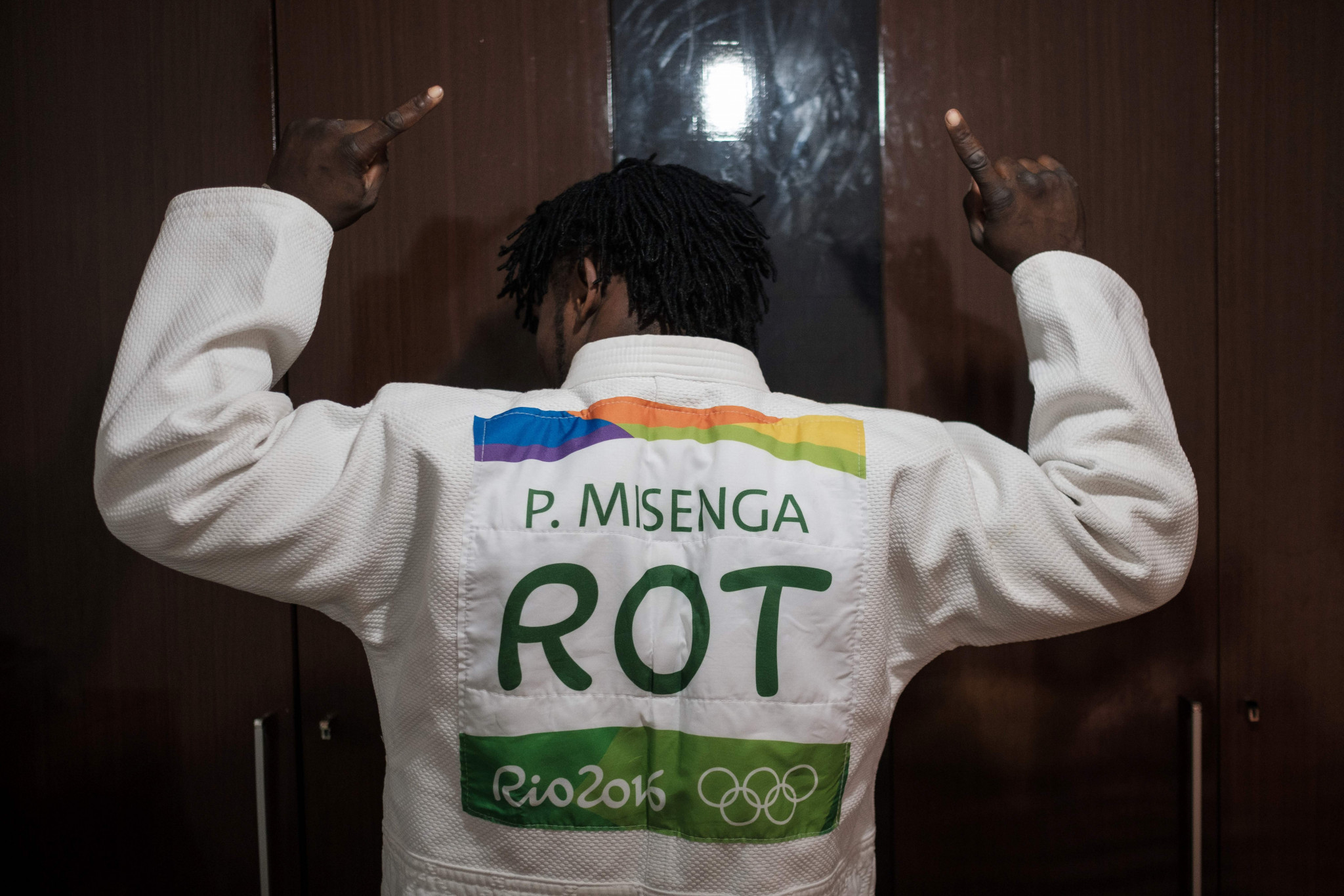 The refugee team made its debut at the Rio 2016 Olympic Games ©Getty Images