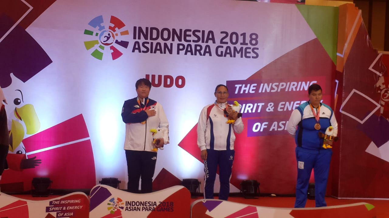 South Korea won another gold in the judo, but in controversial fashion as no silver was awarded ©Asian Para Games