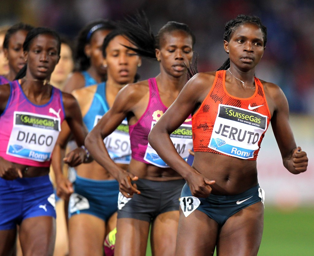 Agatha Jeruto is one of two Kenyan athletes to have been banned following failed doping tests ©Getty Images